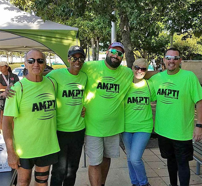 volunteer AMPT Running